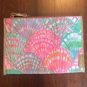 Lilly Pulitzer Shell Print Zip Pouch
